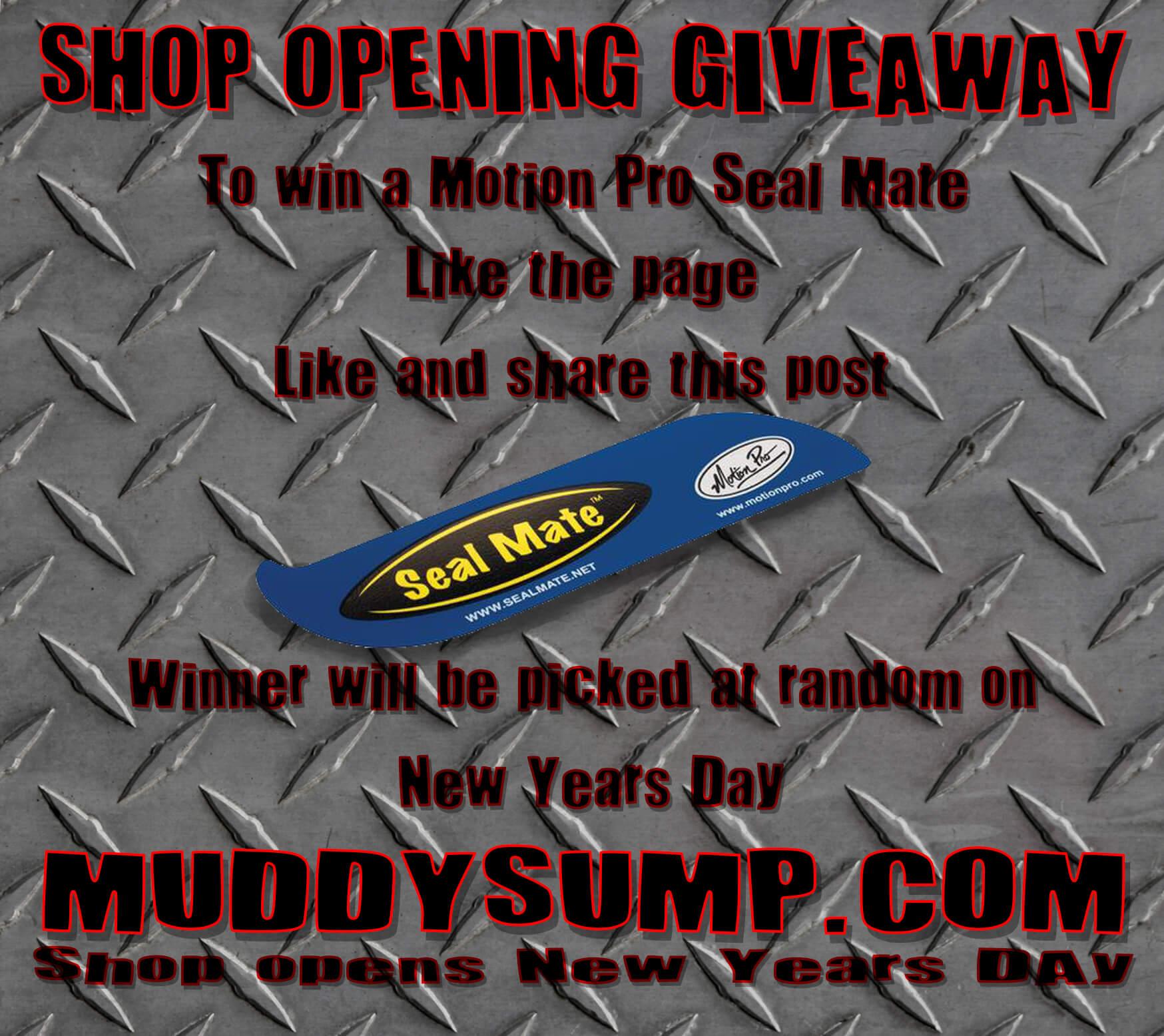 MuddySump - Giveaway!